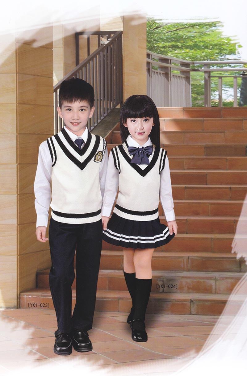 学校英伦套装