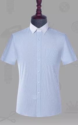 高端男士短袖衬衣